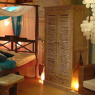 kleiderschrank teak lamellent ren unten 2 sch be m. Black Bedroom Furniture Sets. Home Design Ideas