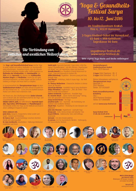 Surya Festival 2016 Hannover