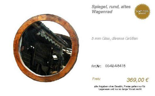 00-42-4-8418-Spiegel, rund, altes Wagenr_sam nok