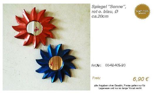 00-42-405-20-Spiegel _Sonne_, rot o. bla_sam nok
