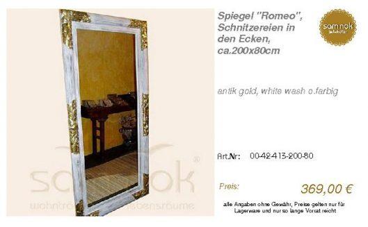 00-42-413-200-80-Spiegel _Romeo_, Schnitzere_sam nok