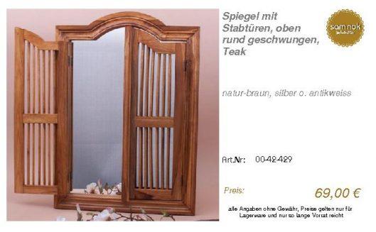 00-42-429-Spiegel mit Stabtüren, oben_sam nok