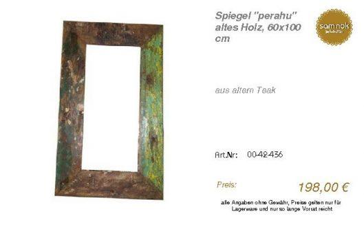 00-42-436-Spiegel _perahu_ altes Holz_sam nok