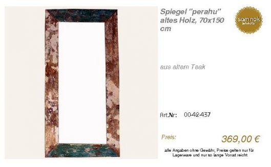 00-42-437-Spiegel _perahu_ altes Holz_sam nok