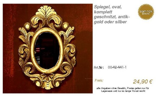 00-42-441-1-Spiegel, oval, komplett ges_sam nok