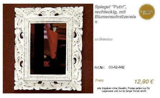 00-42-442-Spiegel _Putri_, rechteckig_sam nok