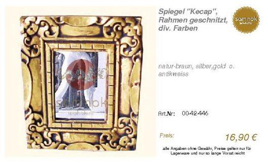 00-42-446-Spiegel _Kecap_, Rahmen ges_sam nok