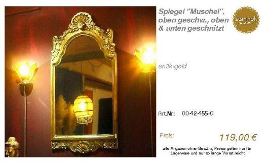 00-42-455-0-Spiegel _Muschel_, oben ges_sam nok