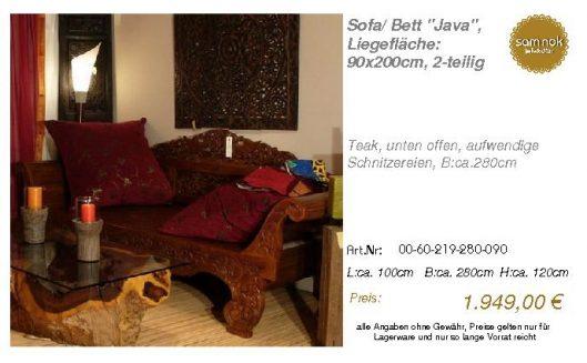 00-60-219-280-090-Sofa_ Bett _Java_, Liegeflä