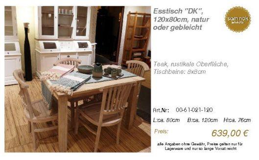 00-61-021-120-Esstisch _DK_, 120x80cm, na_sam nok