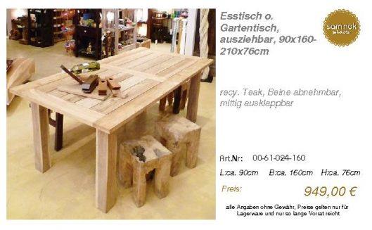 00-61-024-160-Esstisch o. Gartentisch, au_sam nok