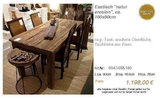 00-61-033-160-Esstisch _natur erosion_, c_sam nok