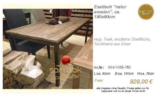 00-61-033-180-Esstisch _natur erosion_, c_sam nok