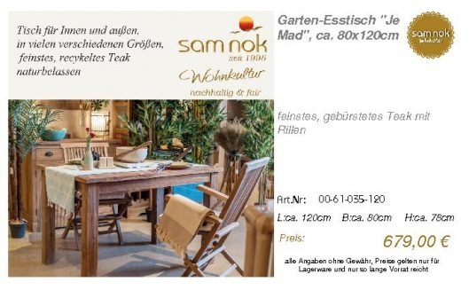 00-61-035-120-Garten-Esstisch _Je Mad_, c_sam nok