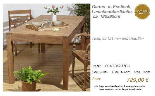 00-61-042-180-1-Garten- o. Esstisch, Lamell_sam nok