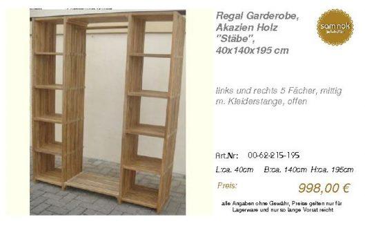 00-62-215-195-Regal Garderobe, Akazien Ho _sam nok