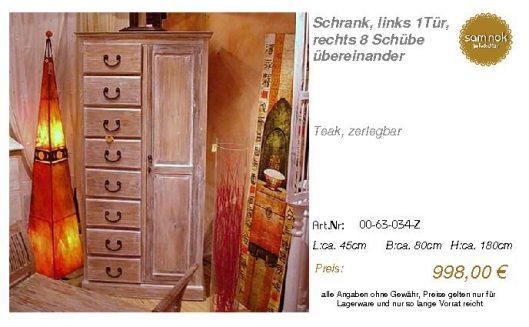 00-63-034-Z-Schrank, links 1Tür, rechts