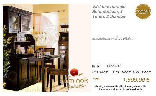 00-63-413-Vitrinenschrank_ Schreibtis