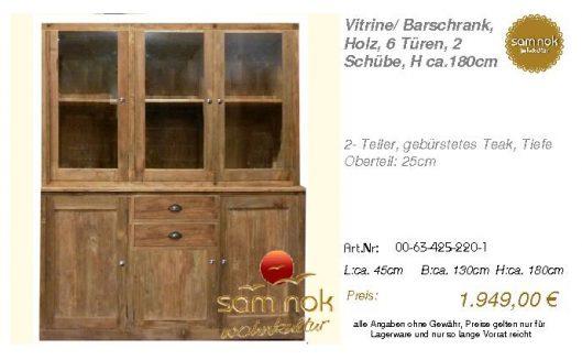 00-63-425-220-1-Vitrine_ Barschrank, Holz,