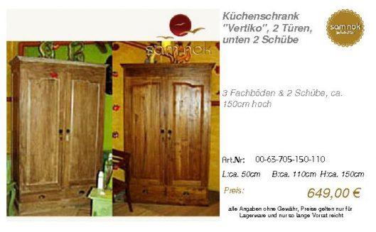 00-63-705-150-110-Küchenschrank _Vertiko_, 2