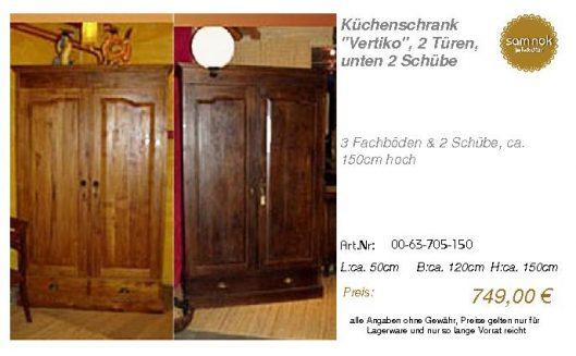 00-63-705-150-Küchenschrank _Vertiko_, 2