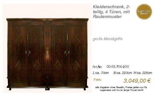 00-63-706-200-Kleiderschrank, 2-teilig, 4
