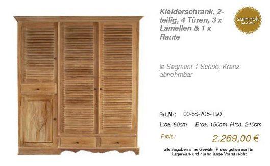 00-63-708-150-Kleiderschrank, 2-teilig, 4