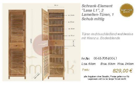 00-63-708-200-L1-Schrank-Element _Lasa L1_,