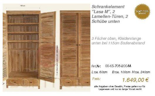00-63-708-200-M-Schrankelement _Lasa M_, 2