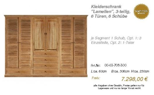00-63-708-300-Kleiderschrank _Lamellen_,