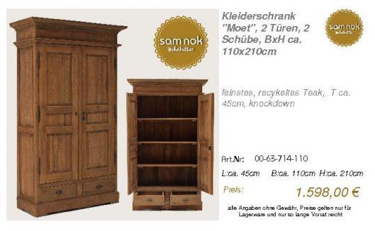 00-63-714-110-Kleiderschrank _Moet_, 2 Tü
