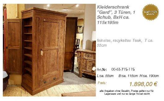 00-63-715-115-Kleiderschrank _Gard_, 3 Tü