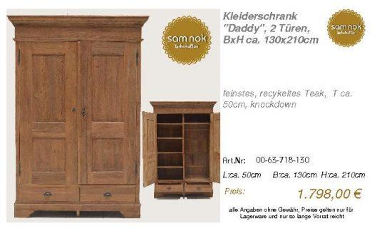 00-63-718-130-Kleiderschrank _Daddy_, 2 T