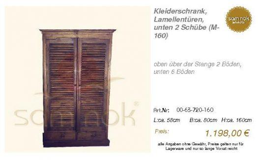 00-63-720-160-Kleiderschrank, Lamellentür