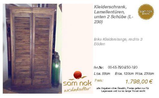 00-63-720-230-120-Kleiderschrank, Lamellentür