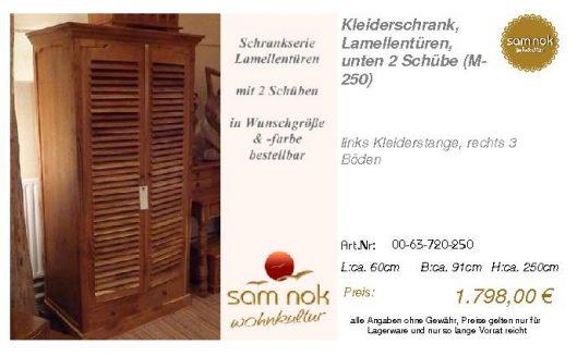 00-63-720-250-Kleiderschrank, Lamellentür
