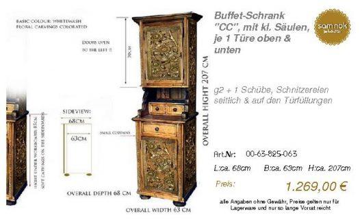 00-63-825-063-Buffet-Schrank _CC_, mit kl