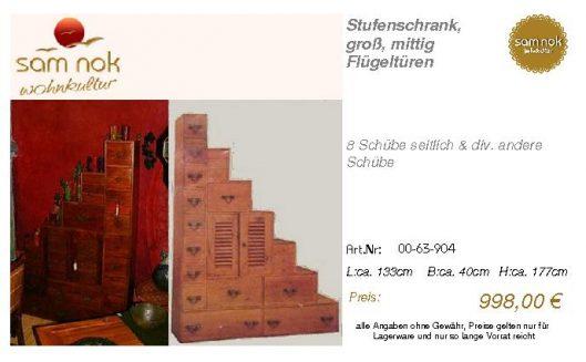 00-63-904-Stufenschrank, groß, mittig