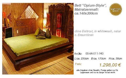 00-64-011-140-Bett _Opium-Style_, Matratz