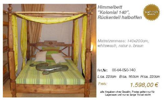 00-64-050-140-Himmelbett _Kolonial 140_,
