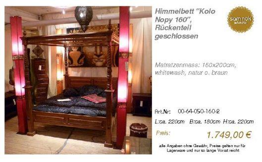 00-64-050-160-2-Himmelbett _Kolo Nopy 160_,
