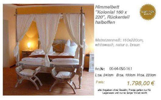 00-64-050-161-Himmelbett _Kolonial 160 x