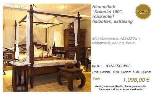 00-64-050-180-1-Himmelbett _Kolonial 180_,