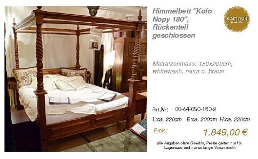 00-64-050-180-2-Himmelbett _Kolo Nopy 180_,