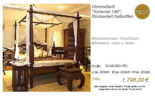 00-64-050-180-Himmelbett _Kolonial 180_,