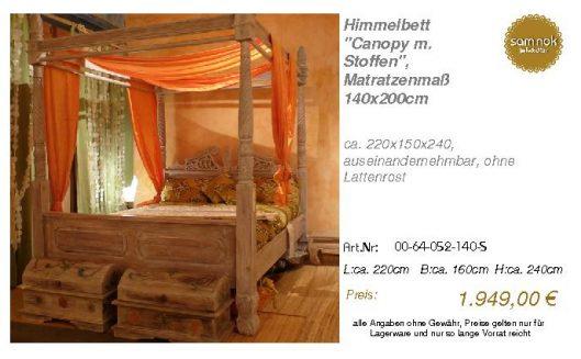 00-64-052-140-S-Himmelbett _Canopy m. Stoff