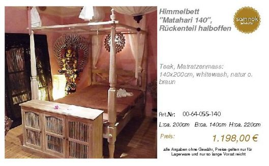 00-64-055-140-Himmelbett _Matahari 140_,