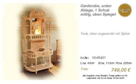 00-68-201-Garderobe, unten Ablage, 1 _sam nok