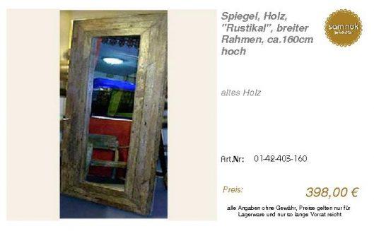 01-42-403-160-Spiegel, Holz, _Rustikal_,_sam nok