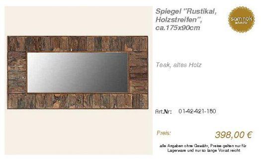 01-42-421-180-Spiegel _Rustikal, Holzstre_sam nok